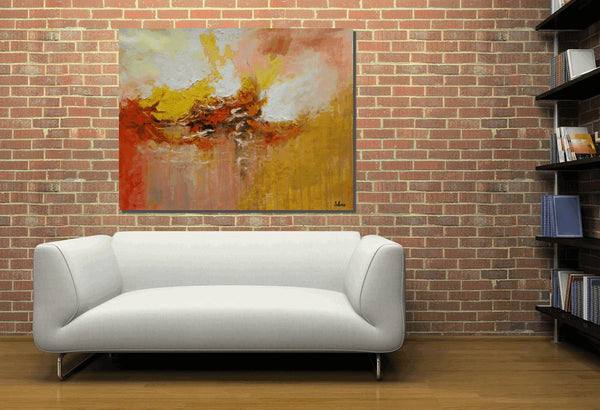 Canvas Art, Abstract Art, Oil Painting, Large Canvas Painting, Modern Artwork