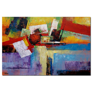 Abstract Art Painting, Large Original Painting, Living Room Canvas Wall Art