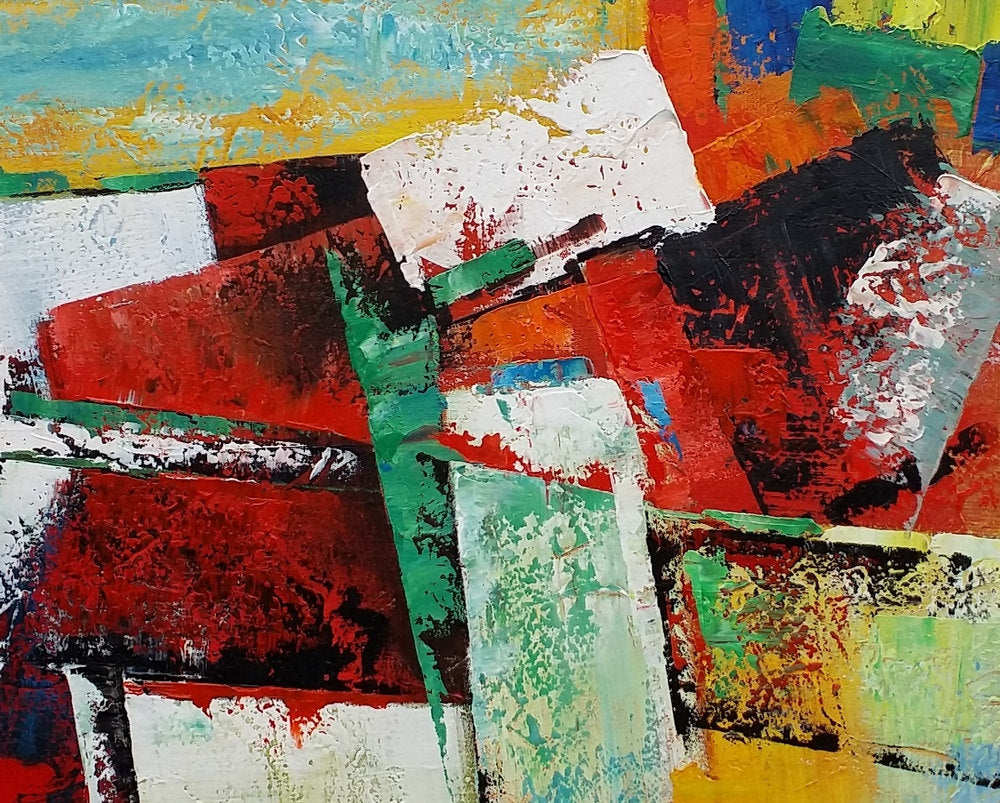Large Canvas Painting Contemporary Abstract Wall Art