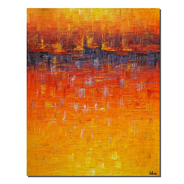 Abstract Canvas Art, Original Painting, Large Art, Bedroom Canvas Painting - Silvia Home Craft