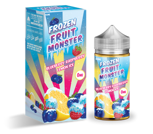 Blueberry Raspberry Lemon Ice (Frozen Fruit Monster)