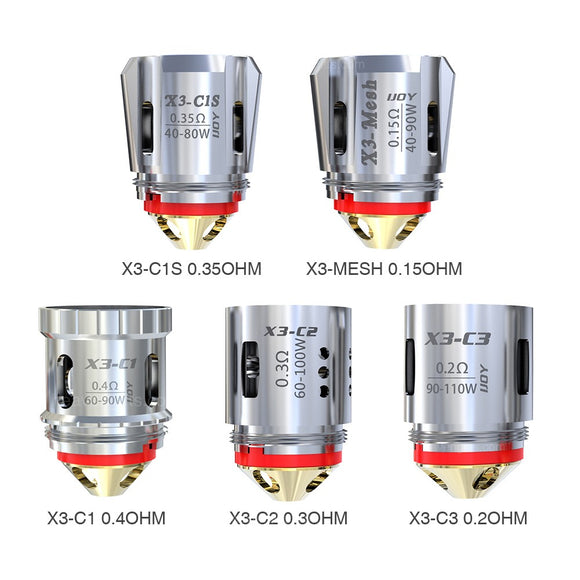 IJOY Captain X3 Replacement Coil 3pcs