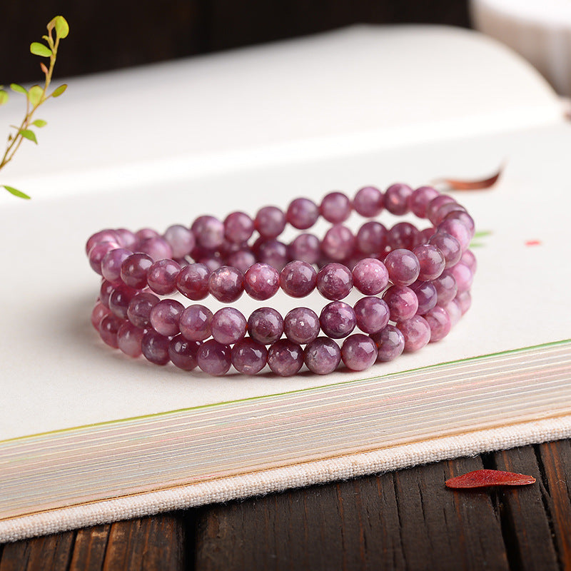 bracelet en tourmaline rose bienfaits