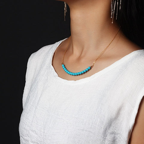Turquoise et Or 14k