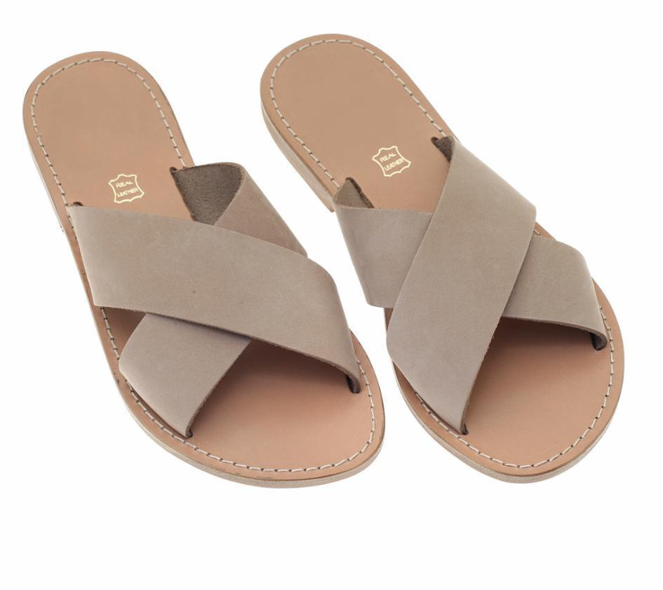 Nubuck Leather Sandals