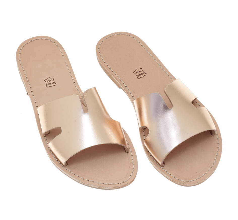 muska Gold / EU-38 | US-7 Chrysina Sandals