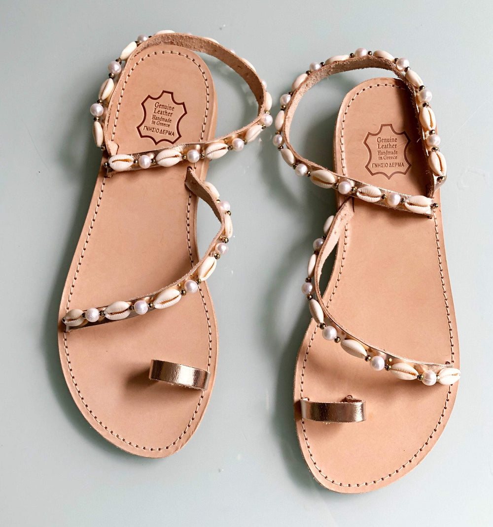 muska Tan / EU-41 | US-10 Oceania Sandals