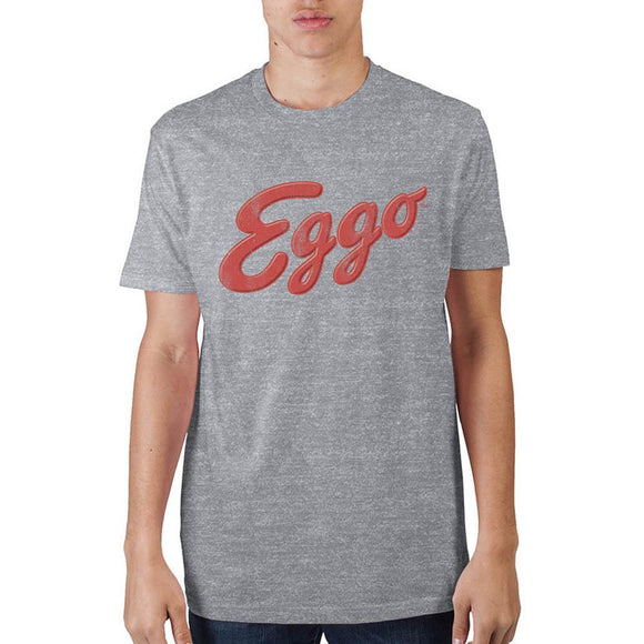 Men's T-Shirt~Kellogg's Eggo Logo Athletic Heather T-Shirt~Scantily33x - Scantily33x