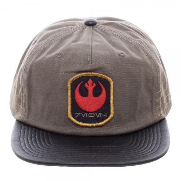Dc Comics~Star Wars Rogue One Distressed Rebel Slouch Snapback~Scantily33x - Scantily33x