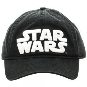 Dc Comics~Star Wars Logo Black Adjustable Cap~Scantily33x~ - Scantily33x
