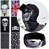 Men's Or Women's Skull Face & Neck Wrap Warmer~Scantily33x - Scantily33x