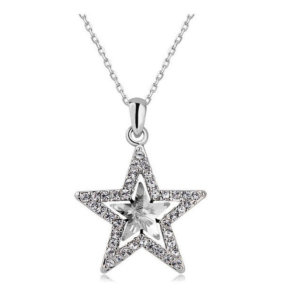Pendant Necklace~Wish Upon A Star Tonight~ Pendant Necklace~Scantily33x - Scantily33x