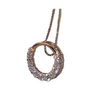 "Pendant Necklace~ Cubic Zirconia 'Bling"" Jewelry~Scantily33x - Scantily33x"