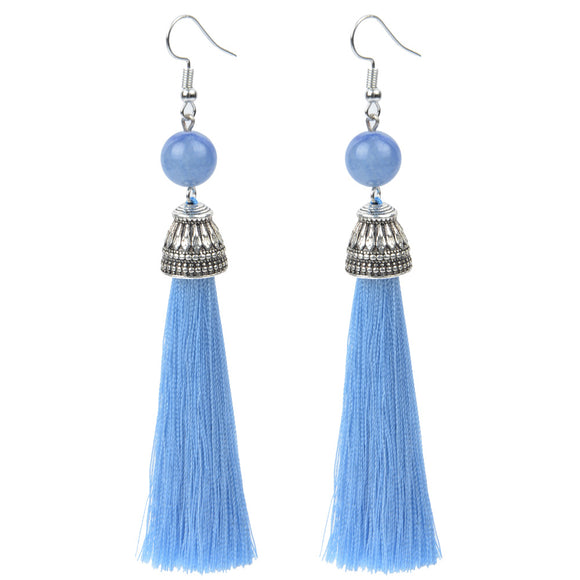 Earrings~Boho Princess~ Long Tassle Earrings~Scantily33x - Scantily33x