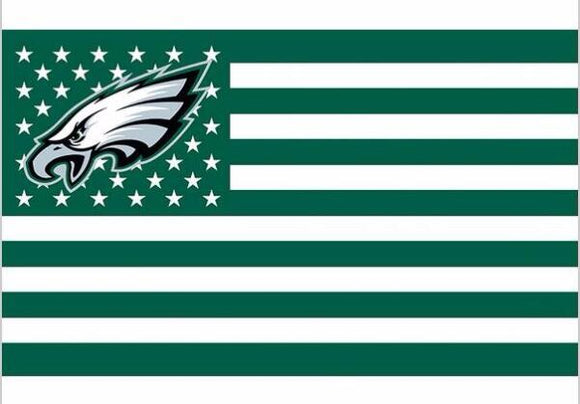 Sports Fans~ Philadelphia Eagles US flag~Scantily33x - Scantily33x