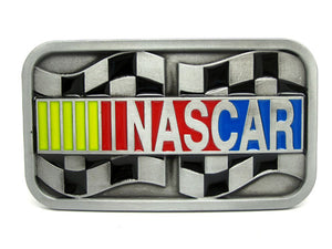 Sports Fans~ Nascar Motorsport Belt Buckle~Scantily33x - Scantily33x