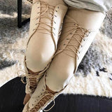 Women's~ Super Sexy Suede~Lace Up Pants~Scantily33x - Scantily33x