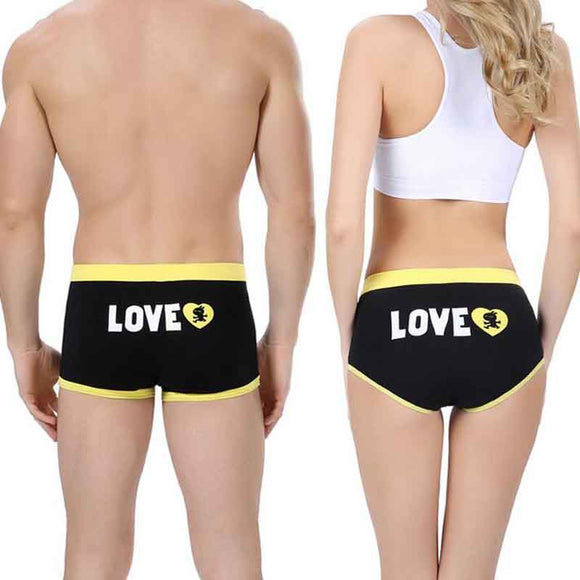 Her's and His Undies ~Matching LOVE Undies For Couples~Scantily33x - Scantily33x