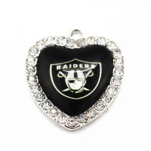 Sports Fan's ~ Raiders Pendant Necklace Charm - Scantily33x