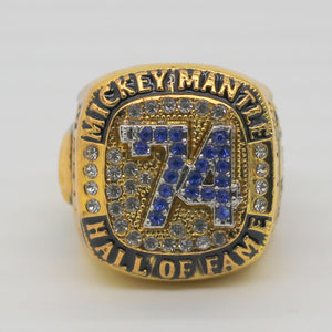 Sports Fan~ 1951-1968 Hall Of Fame Mickey Mantle World Championship Ring~Scantily33x - Scantily33x