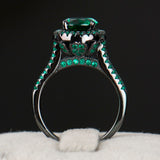 Ring~Gorgeous Green 14KT Black Gold Filled Ring!~Scantily33x - Scantily33x