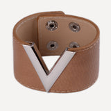 Bracelet~Modern Looking Leather Wrap/Cuff Bracelet~Scantilly33x - Scantily33x