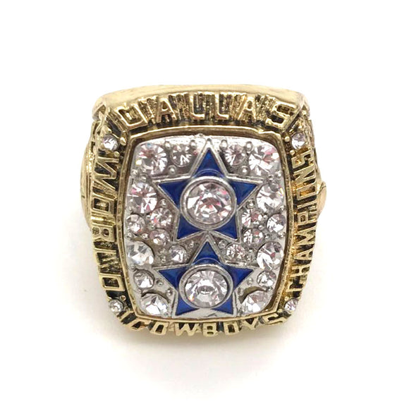 Sports Fan~ Mens, 1977 Super Bowl  Dallas Cowboys Champion Ring Size 11 Only! ~Scantily33x - Scantily33x