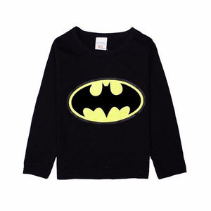 Boy's 2T-7 Long Sleeve Boys Batman T-Shirt~Scantily33x - Scantily33x