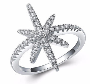 Ring~Stunning Sparkly Star Ring!~Scantily33x - Scantily33x