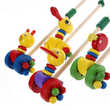 Wooden Toys~ Cute Animal Push-N-Play - Scantily33x