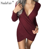 Women's Wear~ Deep V Neck Bodycon Party Dress! ~Scantily33x - Scantily33x