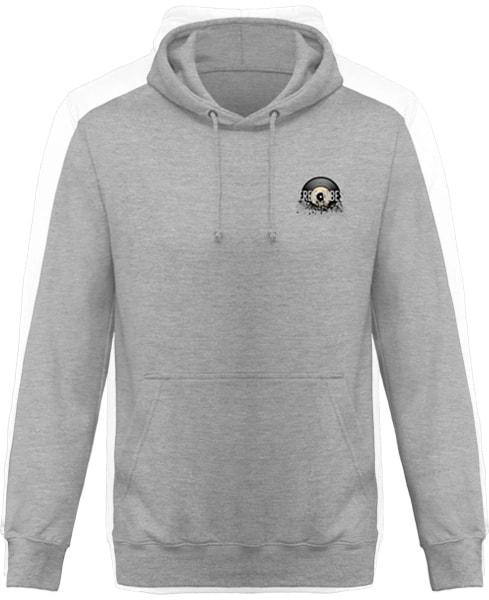 [ TEKNO PIRATE ] - Design au Dos - Sweat à Capuche Unisexe