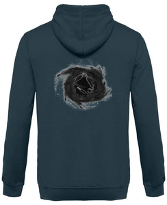 [NEW!] [ BLACK HOLE ] - Design au Dos - Sweat à Capuche Unisexe