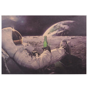 Poster Beer on the Moon