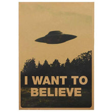 Charger l'image dans la galerie, Poster I Want to Believe