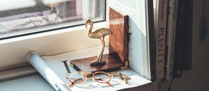 flamingo bookstand animaal amsterdam