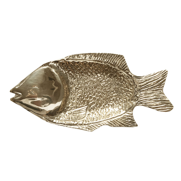 fish plate brass animaal amsterdam