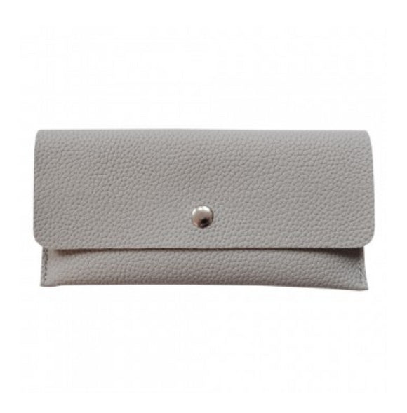 wallet grey animaal amsterdam pu leather