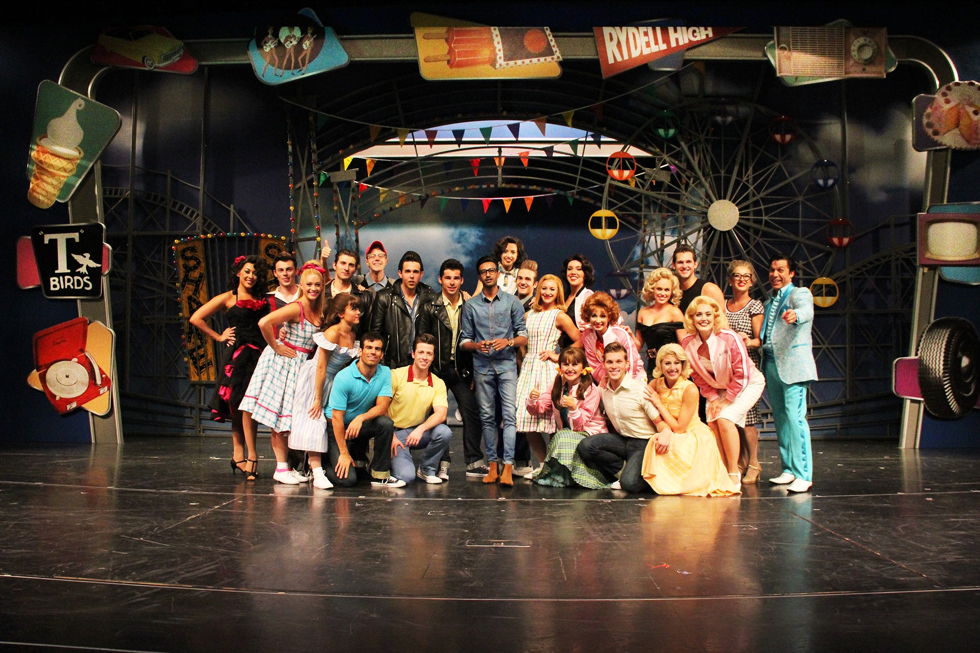 Rahul Patel Royal Caribbean International Cruise Grease Musical