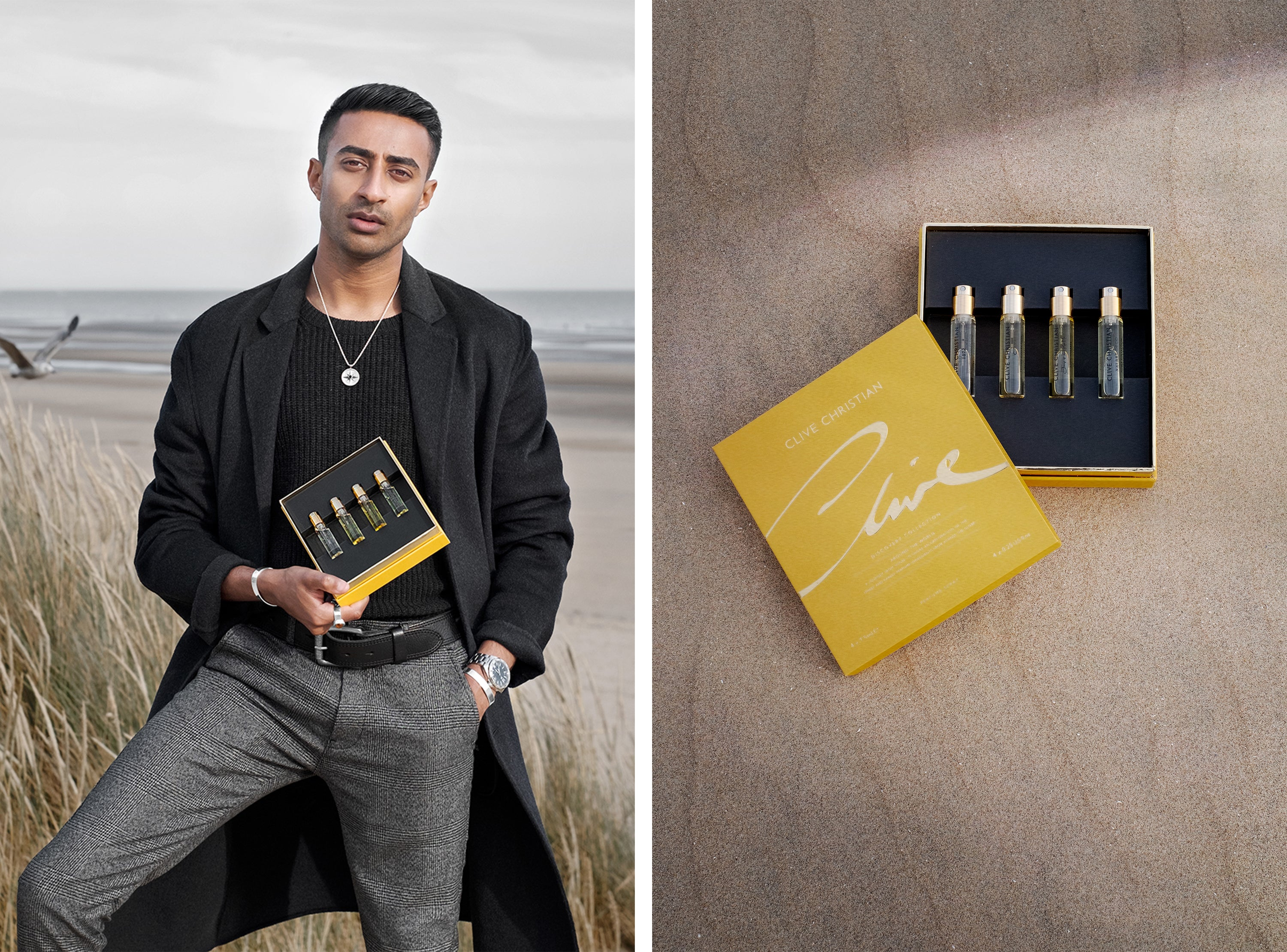 Rahul Patel Clive Chrisitan Worlds Most Expensive Perfume Brand British Luxury House Around The World Discover Set Masculine