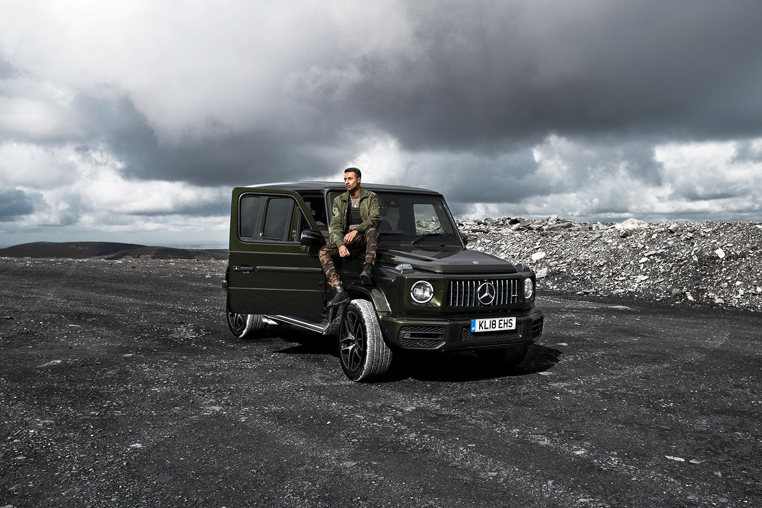 Rahul Patel Blog Mercedes Benz UK AMG G63 Car Snowdonia Wales UK Alpha Industries Dr Martens Rahul Patel Collection Jewellery Lee Cooper