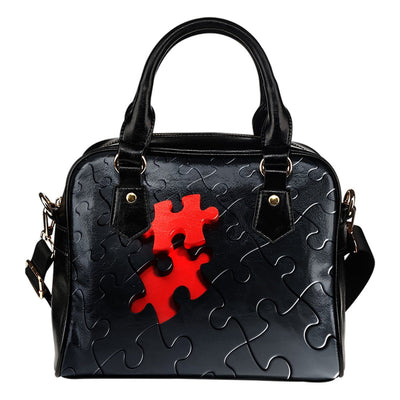 $25 OFF TODAY - Autism Puzzle - Premium Shoulder Handbags - Double-Sided Print