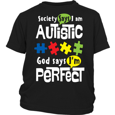 T-shirt - GOD SAYS I AM PERFECT - SAVE $10 Today (Offer Ends Soon) Shirts & Hoodies