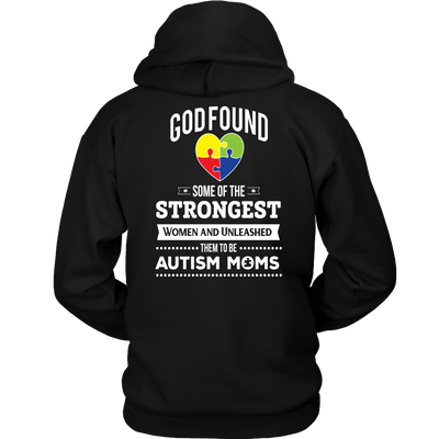 T-shirt - STRONGEST WOMEN - AUTISM MOM - BACK PRINTED - SAVE $10 Today (Offer Ends Soon) Shirts & Hoodies