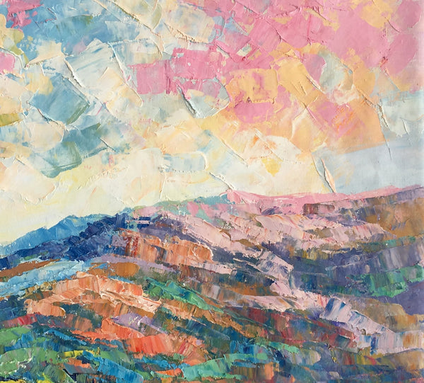 abstract art abstract landscape painting oil painting abstract