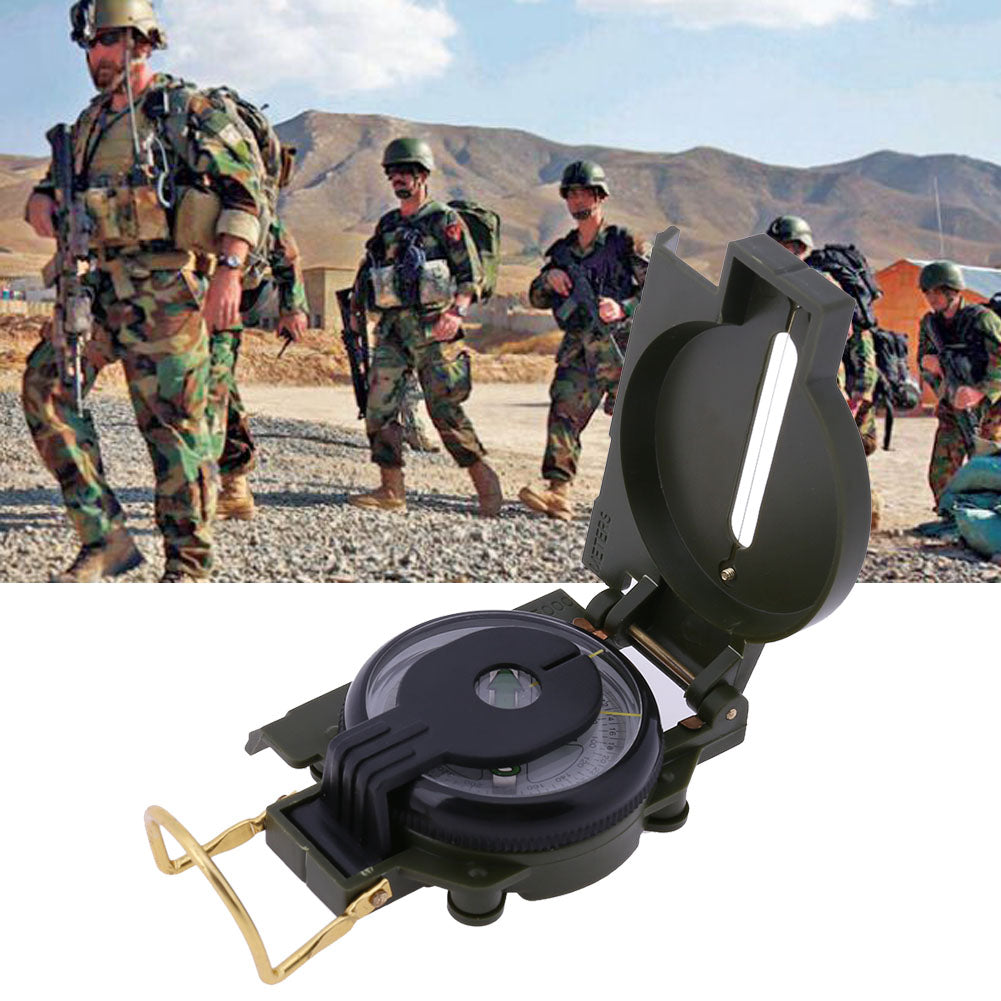 EDC Outdoor Portable Tactical Compass Military Multifunctional