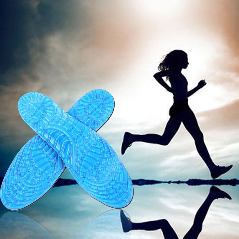 Orthotic Arch Support Massaging Damping Silicone Anti-Slip