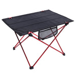 1Pcs Portabl Folding Camping Table Outdoor Ultra-light Aluminium Alloy Picnic Desk Camping Accessories