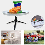 Portable Fruit Plate Bracket Camping Picnic BBQ