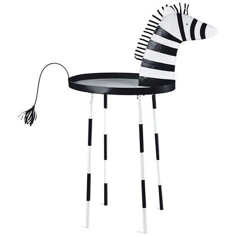 Zebra Side Table - Stumble & Loaf
